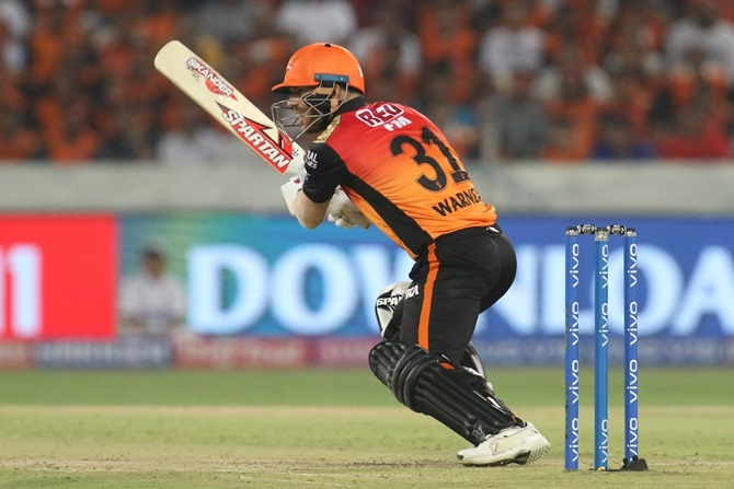 Turning Point: Warner takes Hyderabad by storm