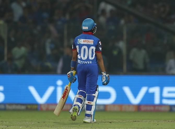 IPL PIX: Rabada leads Delhi to Super Over win - Rediff Cricket