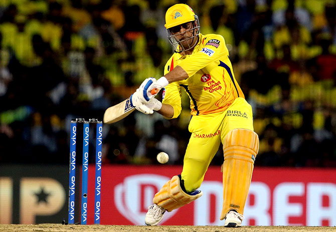 CSK captain Mahendra Singh Dhoni will be expecting a better batting performance from his team