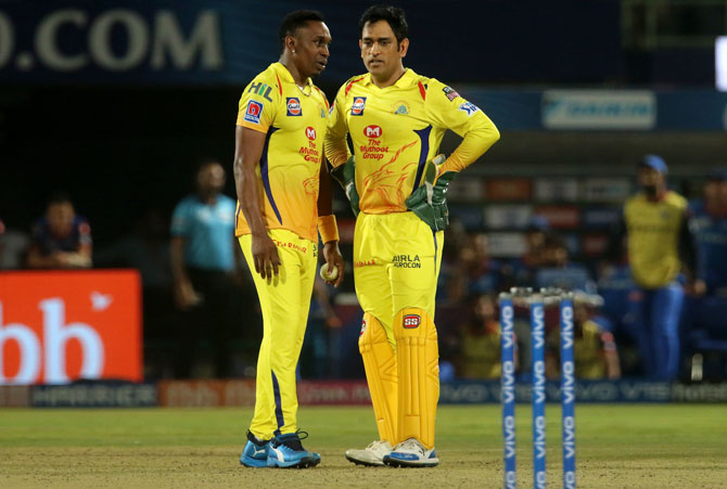 "Dwayne Bravo, who has played in various T20 leagues across the world, said ""I don't think you can get another team or environment like Chennai Super Kings."""