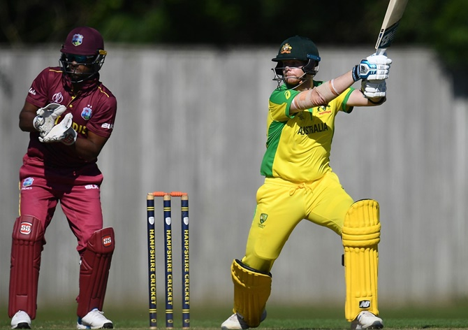 WC Warm-Up: Australia crush West Indies by seven wickets
