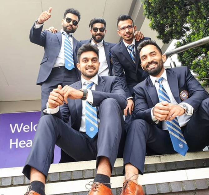 PIX: Team India touch down in London ahead of World Cup