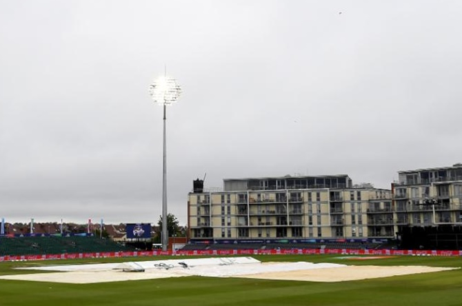 WC Warm-Up: Rain washes out games