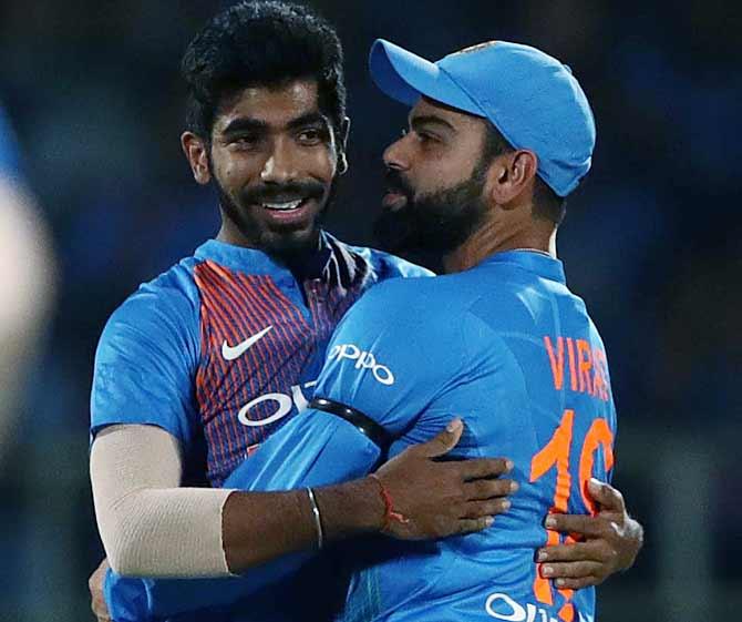 ODI Ranking: Kohli, Bumrah retain top spots