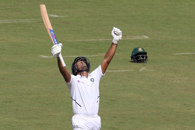 PHOTOS: India vs Bangladesh, 1st Test, Day 2