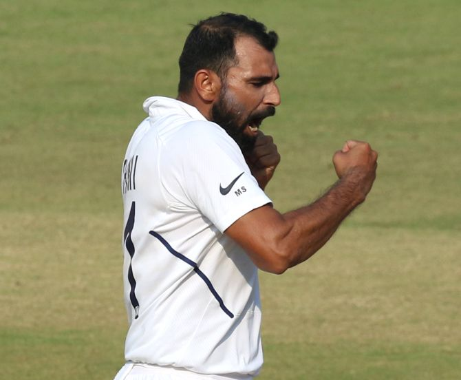 Mohammed Shami's 790 rating points are the third best for an India pace bowler with only Kapil Dev (877) and Jasprit Bumrah (832) having recorded more points