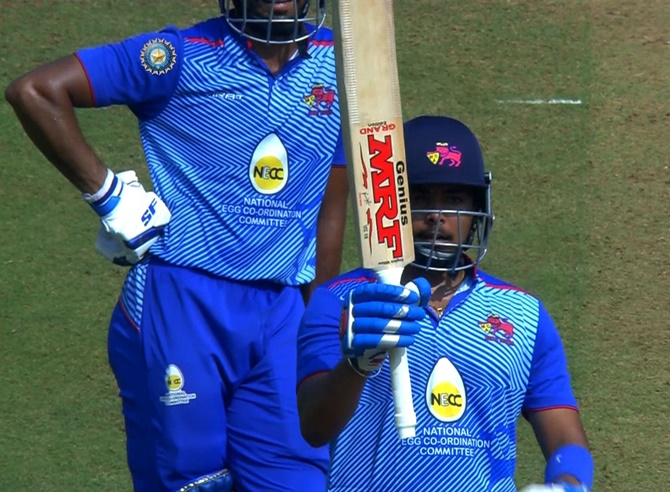 Mushtaq Ali Trophy: Shaw slams fifty on return from ban