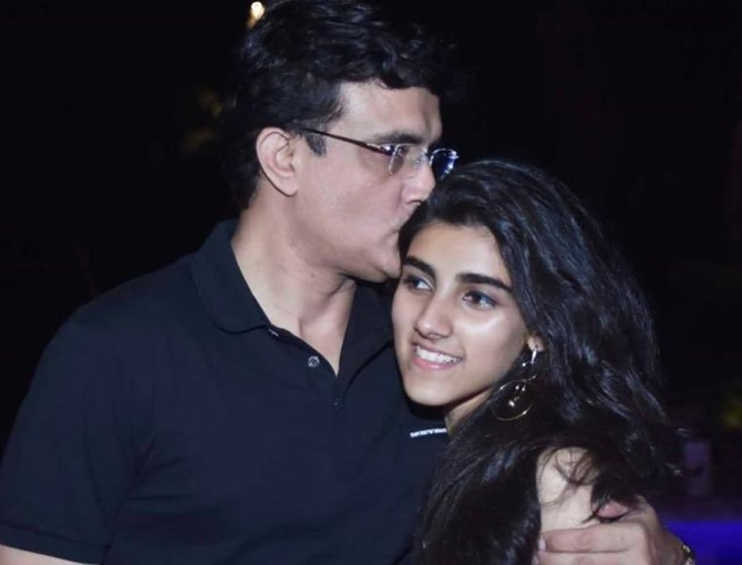 Please keep Sana out: Ganguly on daughter's CAA post