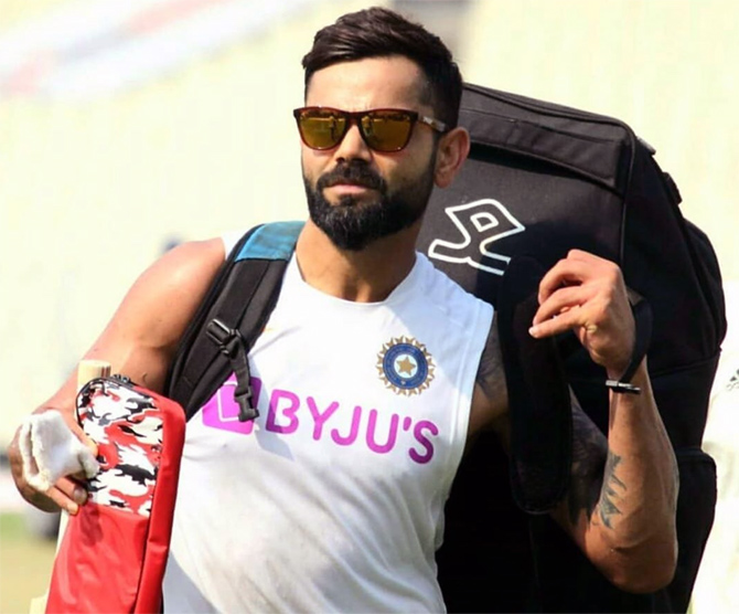 Kohli named in Wisden cricketers of the decade list