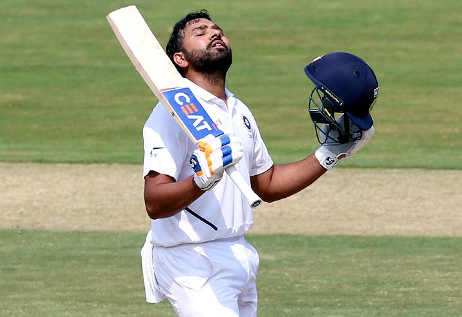 Rohit's super stats from Visakhapatnam Test