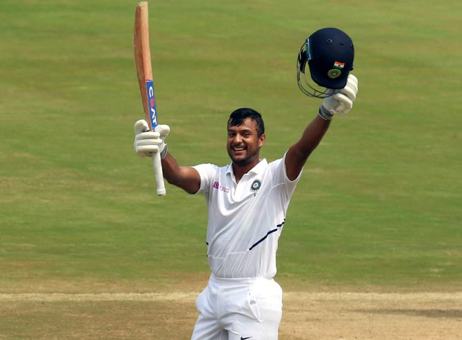 Mayank Agarwal, on Thursday, became the fourth Indian to convert his maiden Test century to a double hundred