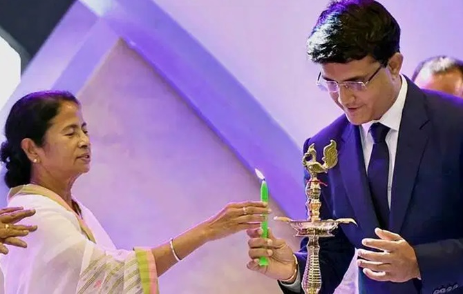 Mamata reacts as Ganguly set to become BCCI president