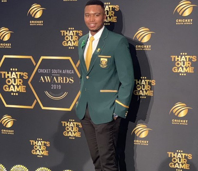 Lungi Ngidi: Of financial struggles and 'Lungi Dance'