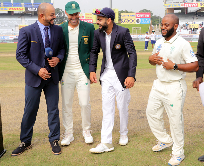 PIX: When SA brought out 'proxy captain' for the toss