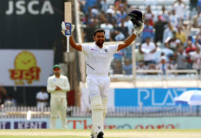PHOTOS: Rohit's double century puts India in control