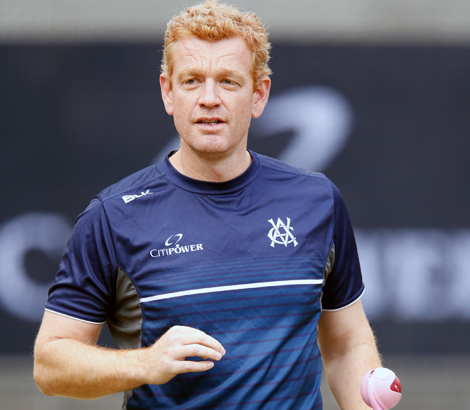 Australia's Assistant coach, 38-year-old Andrew McDonald