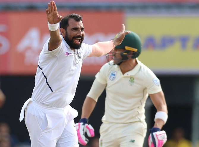 SA batsmen were clueless against India pacers