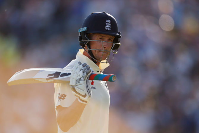 Denly's patient half-century in the second innings of the third Test, where he shared a 126-run stand with Root, set up the win for the hosts who were chasing a daunting target of 359 to level the series
