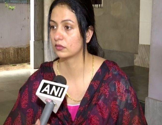 Mohammed Shami's estranged wife  Hasin Jahan