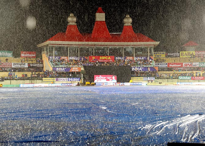 Heavy rain washes out India vs SA T20I in Dharamsala