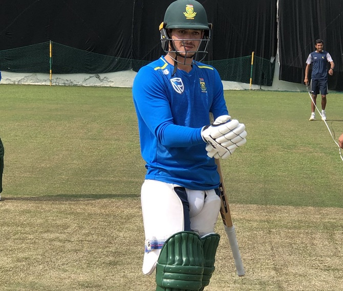 Quinton de Kock has previously led South Africa in the T20Is against India last year