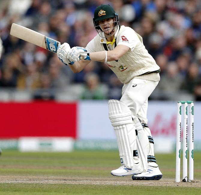 Smith opens up about unusual batting style