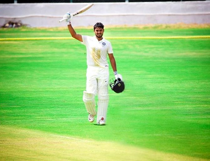 Panchal hits ton for India 'A' in drawn match