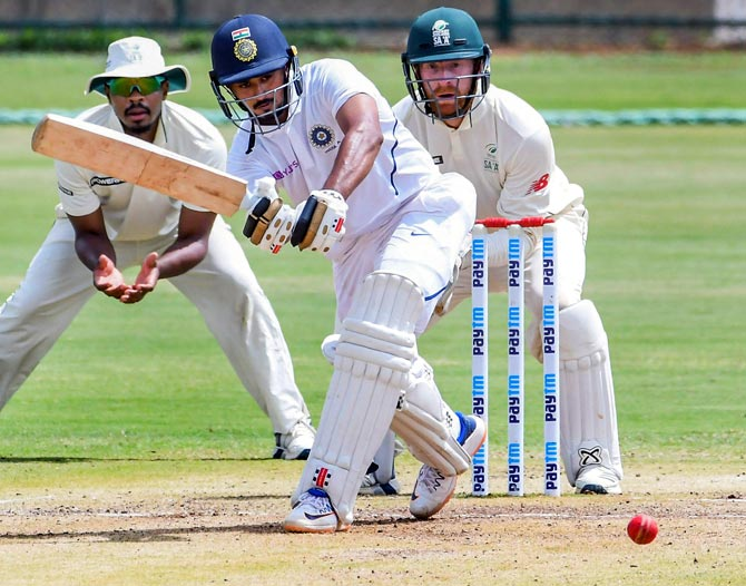 Panchal shines for India 'A' with ton in drawn game