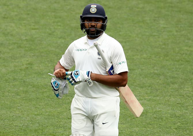 India-SA, 1st Test: Rohit begins life as Test opener