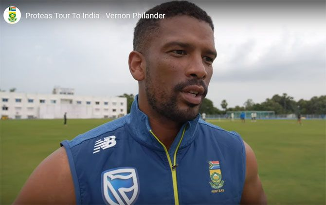 Vernon Philander, who had picked up 15 wickets during South Africa's last Test series against India in 2018, wants the senior players to leave behind a legacy for the youngsters.