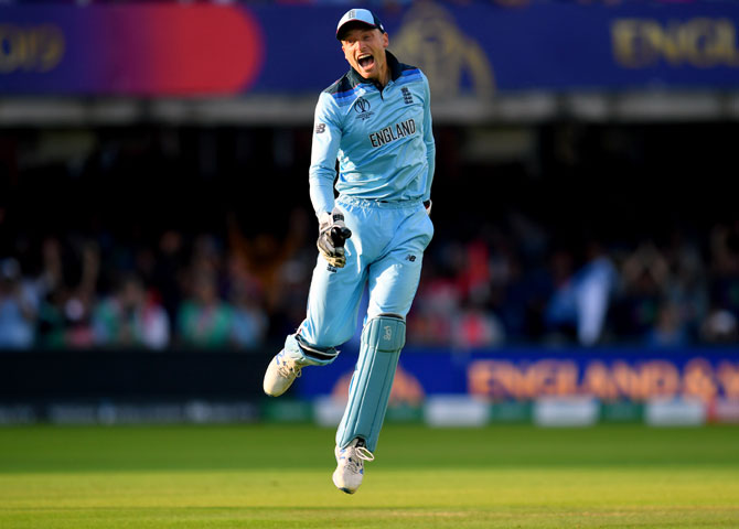 Buttler to auction World Cup shirt for COVID-19 fight