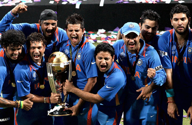 Yuvraj, Raina recall 2011 World Cup triumph