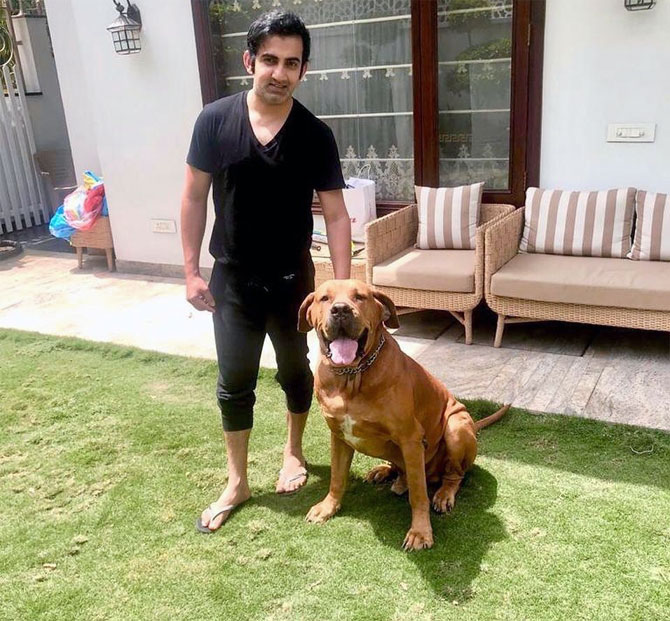 Gambhir in self-isolation after COVID-19 case at home