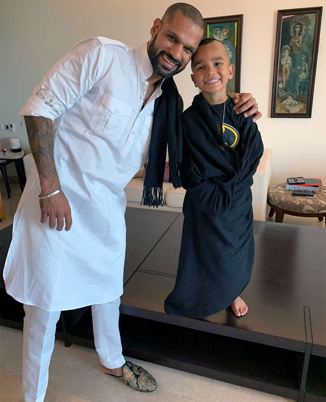 SEE: 'Daddy Cool' Dhawan shakes a leg with son Zoravar
