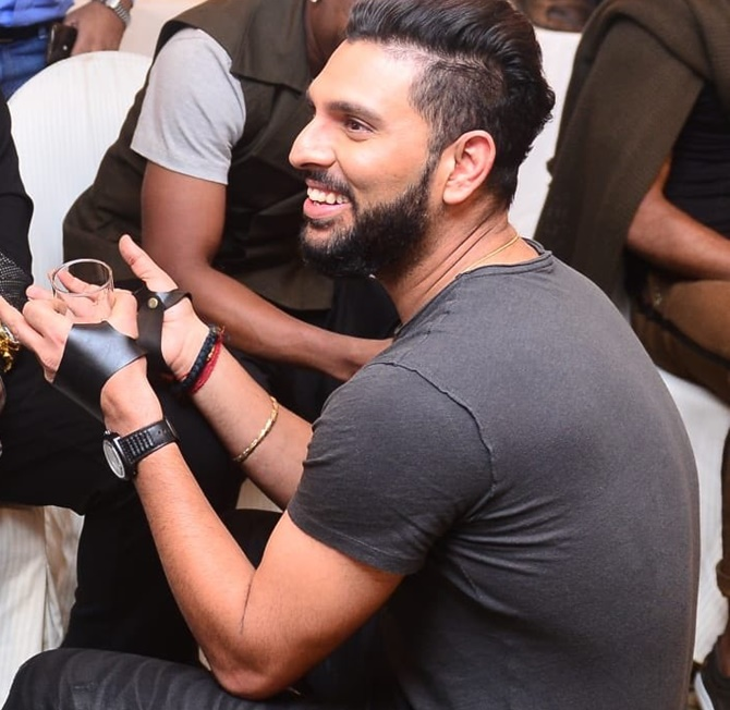 I know the journey and pain: Yuvraj express grief