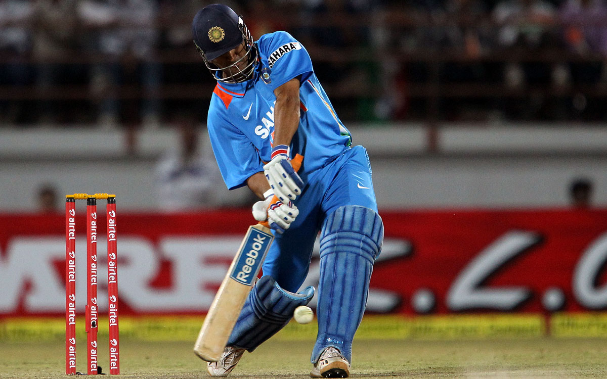 World cricket will miss the helicopter shots, Mahi' - Rediff Cricket