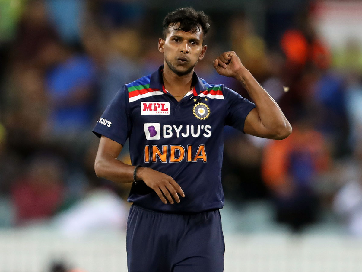 Natarajan clears fitness test, back in India dugout