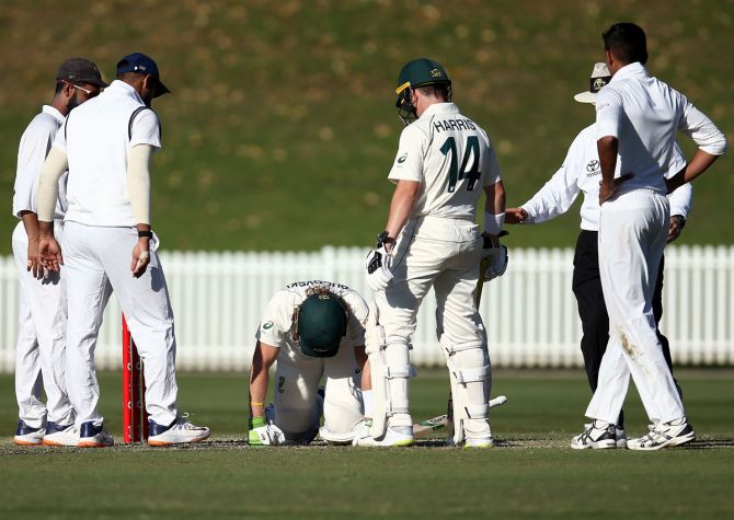 Australian media reported that Pucovski had already suffered nine concussions, but Australia A assistant coach and former opening batsman Chris Rogers said he felt there were no fears about Pucovski's technique and dealing with short-pitched bowling.