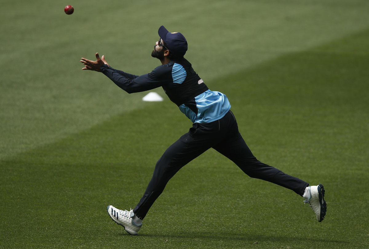 Jadeja put through fitness test in India nets