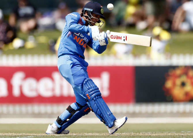PHOTOS: Mandhana, Verma power India to victory vs Aus