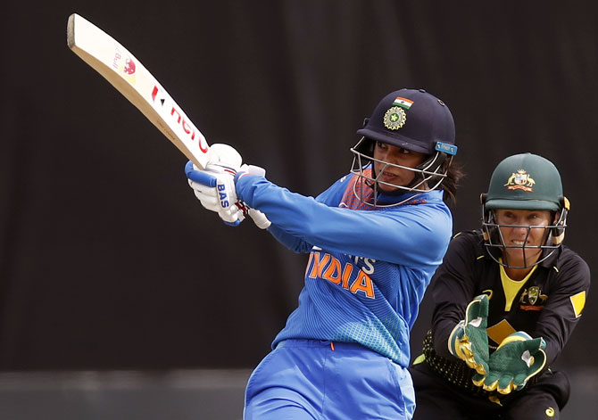 PIX: Mandhana slams 37-ball 66 but India lose in final