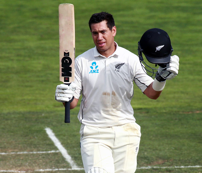 A special century for Kiwi veteran Taylor