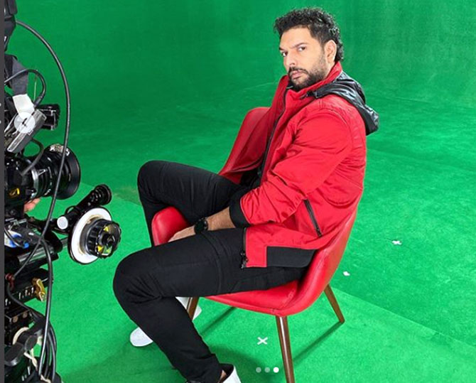 Now, see the 'real' Yuvraj Singh in a web series
