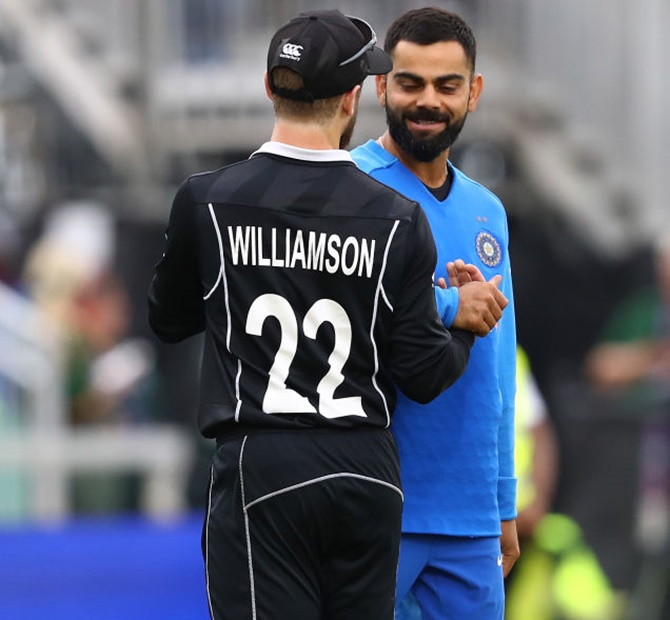 Kohli and Williamson: A club of mutual admiration
