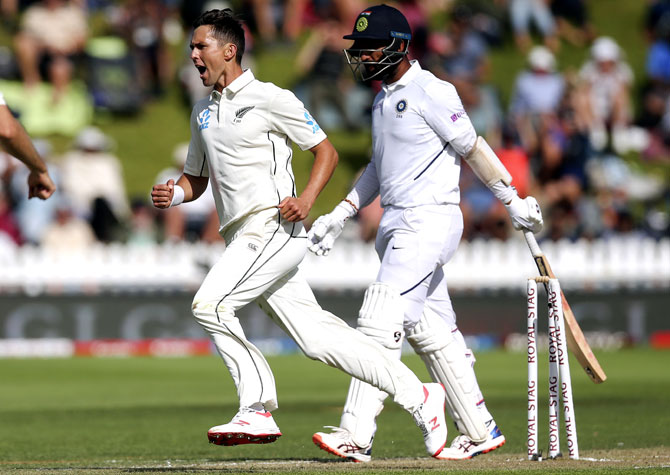 PHOTOS: New Zealand vs India, 1st Test, Day 3