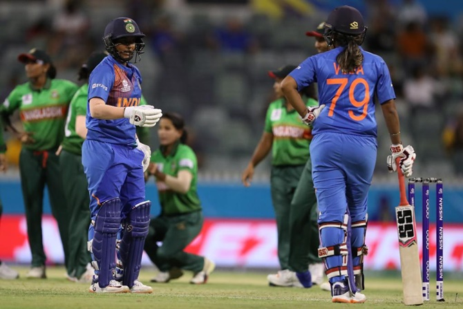 Women's T20 WC PIX: India vs Bangladesh