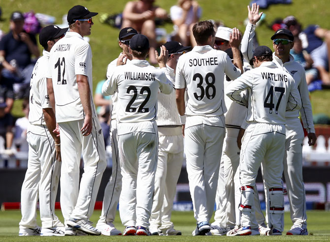 PHOTOS: New Zealand crush India by 10 wickets