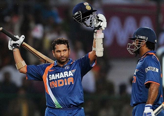 Why umpire was afraid during Sachin's ODI double ton