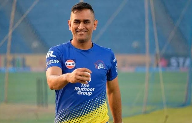When will Dhoni start training for IPL?