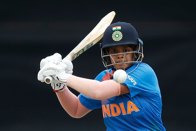 WT20 PICS: Shafali stars as India beat New Zealand